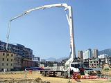 内蒙泵车出租 三一出租37米46米泵车
