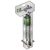 标准型型机房电梯