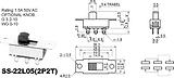 拨动开关SS-22L05