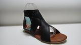 温岭珠宝利时尚女鞋 黑色凉鞋