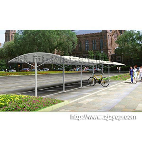 钢结构,膜结构价格_自行车棚zy-105批发价格