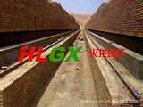 3.4米隧道窑保温设计施工陶瓷纤维模块