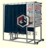 澳宏工业铝型材大量供应展示架,