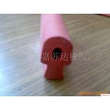 供应红色异型硅胶条,硅胶异形密封条