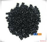供应自产自销PC高浓度黑色颗粒-浓亮黑