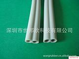 深圳硅胶双排管,橡胶双排管,双排管,硅胶挤出管,硅胶橡胶