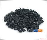 供应自产自销PC黑色镜面光亮再生颗粒-高亮黑