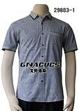戈勞恪斯時尚條紋短袖襯衫