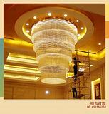 酒店大堂水晶灯,政府大楼水晶灯,展厅水晶灯,商场大堂水晶灯