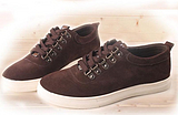 特价包邮韩版时尚系带男式磨砂皮反绒皮日常运动休闲皮鞋真皮板鞋