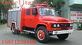 东风尖头140水罐消防车3.5吨