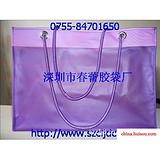 深圳市PVC胶袋厂供应,高档时尚PVC手提袋