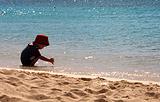加工儿童娱乐水洗海沙 天然海沙 圆粒海沙