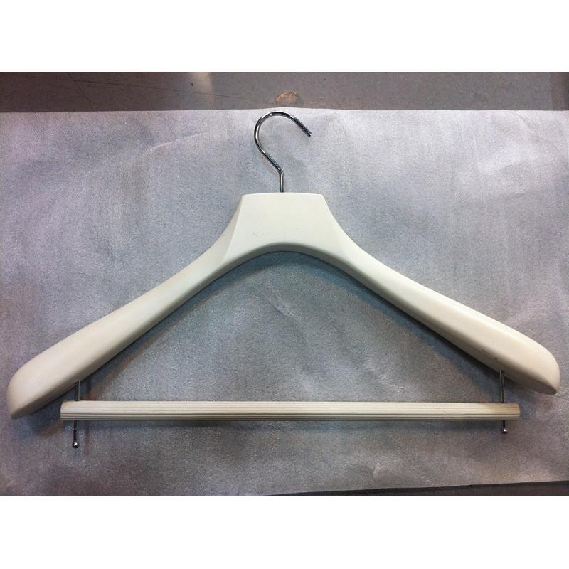 广州曼汶厂家可雕刻logo,高品质实木衣架