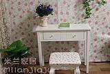 韩式 田园 纯白 梳妆桌 化妆桌 书桌 电脑桌 简约 特价