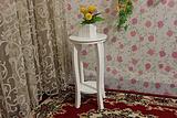 假日木屋田园花架 置物架 阳台 纯白 特价 喷漆 特价