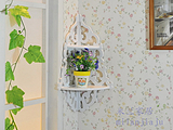 白色镂空 隔板壁挂架 搁板壁架 置物架 特价 壁饰 简易 2个起卖