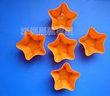 深圳五角星硅胶蛋挞模/硅胶蛋挞模