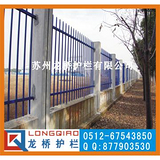 苏州围墙护栏 苏州厂区围墙栏杆 镀锌静电喷涂烤漆处理