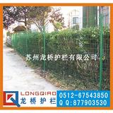 苏州绿化带护栏 苏州绿化带护栏网 绿色浸塑钢丝网 龙桥制造
