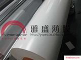大量批发0.125mm|125um厚杜邦乳白色PET薄膜