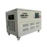 厂家供应电子调速15KW天然气发电机价格