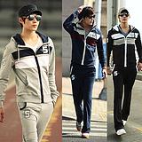 2012秋款运动套装 字母绣标设计 男士卫衣套装 616/w122/p75