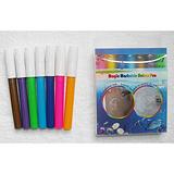 厂家小额代理迷你带印章儿童卡通的魔术环保可以擦洗的水彩笔