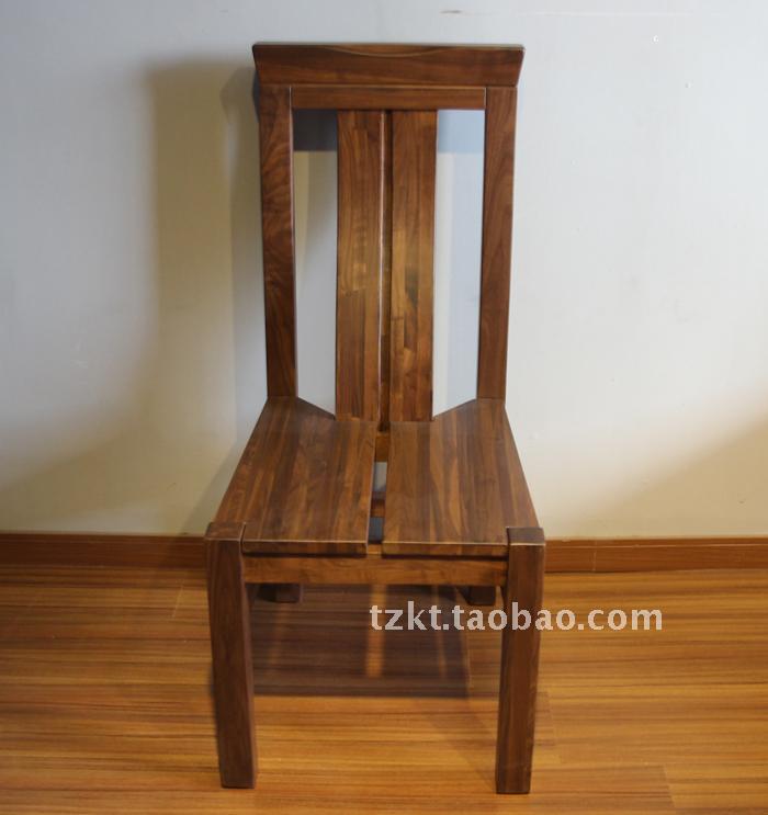 餐椅价格_北美纯黑胡桃实木家具厂家