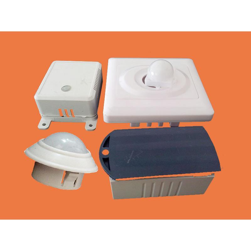 开关电源驱动外壳配件|红外线感应器外壳配件批发价|吸顶灯感应器外壳