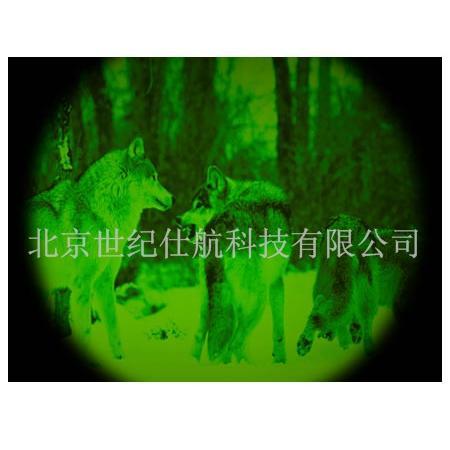 夜视望远镜效果图