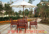 木质桌椅,花园休闲桌椅,户外木桌椅