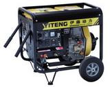 伊藤原装190A柴油发电电焊一体机,便携式柴油电焊机价格