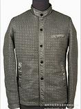 韩版修身立领夹克