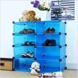 DIY自由组合 衣柜收纳架 衣服衣物整理架 客厅储物架 浴室置物架