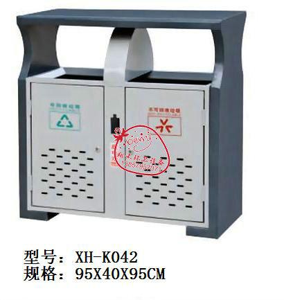 厂家直供冲孔垃圾桶北京桶,木桶k025