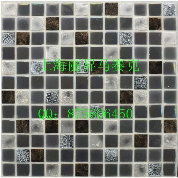 建筑,建材 瓷砖 丽升马赛克--玻璃 石材系列  规格:               30