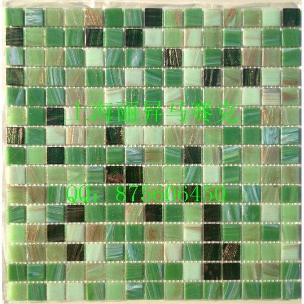绿色欧式马赛克拼花贴图