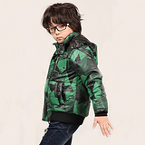 【包邮】欧臣2012秋冬新款男童夹克休闲外套中大童童装厂家直销批