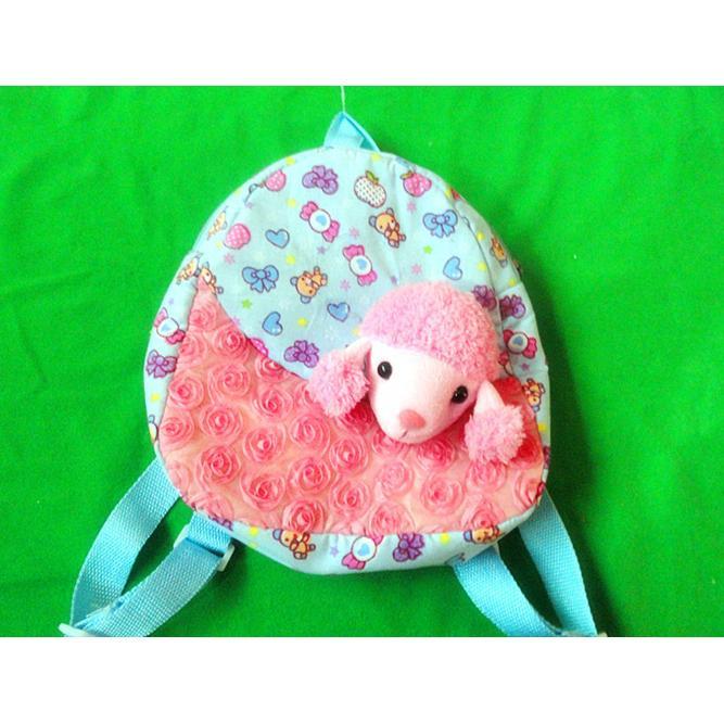 儿童印花布动物背包 颜色多种鲜艳 清爽靓丽