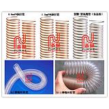 吸尘管,钢丝吸尘管,PU耐磨吸尘管