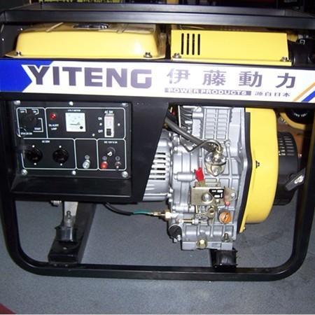 3kw单相柴油发电机 220v柴油发电机