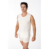 【行家拿货】珍珠纤维舒爽无袖男式T恤 纳米珍珠纤维  厂家直销跑量
