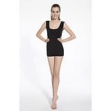 工厂原单 祥吉利宝珍珠纤维内衣 黑色显瘦 女式无袖 美白肌肤面料服饰 功能性服装 纳米珍珠纤维