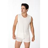 珍珠纤维舒爽男式无袖  纳米珍珠纤维  功能性服装 厂家直销