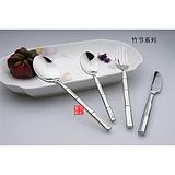 供应银貂促销不锈钢西餐刀叉餐具 竹节系列