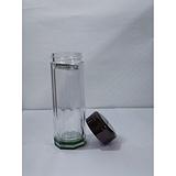 二绿一白八角水晶玻璃杯 礼品杯