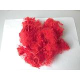 大红永久性阻燃纤维