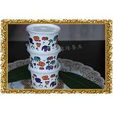 全国热销布丁杯 龟灵膏杯 豆浆杯 果汁杯 塑料碟 果冻杯 冰淇淋