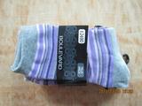 全棉女袜 少女休闲袜 时尚美工 手工缝头无凸起女袜 舒适美观自然